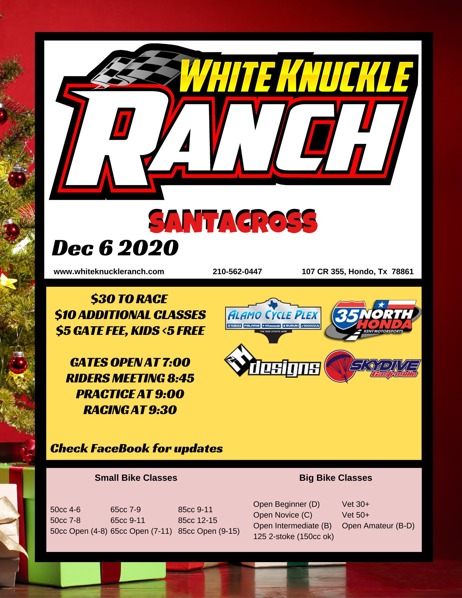 Dec 2020 Race